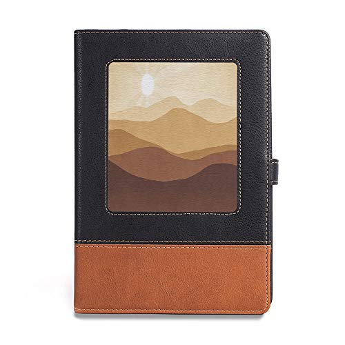 (Vintage Writing Notebook Diary,Tan,A5(6.1