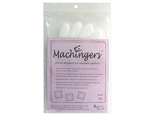 Machingers Quilting Gloves for Free-Motion (Machingers Gloves)