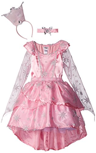 Of Wizard Oz From Glinda (Princess Paradise The Wizard of Oz Glinda the Good Witch Sassy Costume , Pink, Tween)