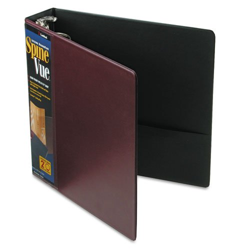 Cardinal SpineVue Ring Binder - Letter - 8.5amp;quot; x 11amp;quot; - 375 Sheet - 2amp;quot; Capacity - 1 Each - ()