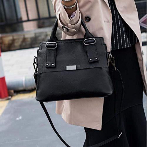 Main Gray Mode Sac Oblique Un en À Épaule Cuir Black DDHZTA pwxqZHUSw