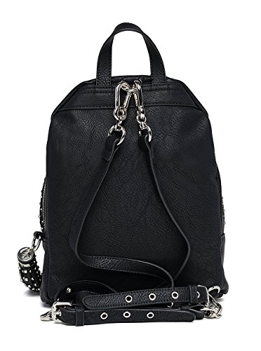 Black Women's Replay Noir Backpack Pu Hammered Matt qYUw7xrU