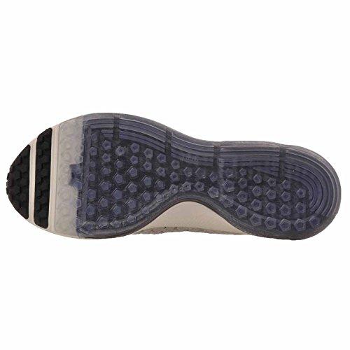 Nike Frauen Zoom All Out Flyknit Laufschuhe Segel / Schwarz - Hellgrau