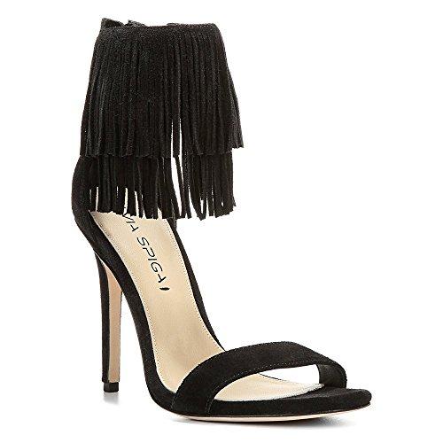 Via 5 37 Black Tabia Spiga Women EU 5 5 5 UK 7 Sandals US 1rxnS1A4