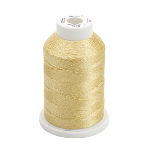 Sulky Of America 268d 40wt 2-Ply Rayon Thread, 1500 yd, Gold