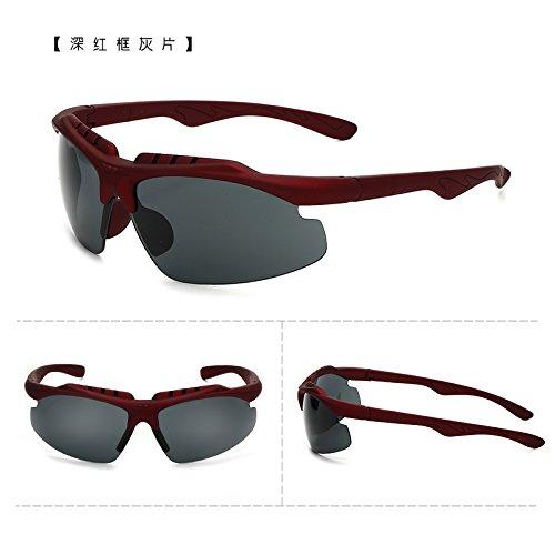 coupe - vent des bicyclettes motocyclettes lunettes de soleil les lunettes de soleil avec des lunettes course sports de plein air des lunettes de soleil les hommes et les femmes tideboîte verte (sac) cLQJueDHH