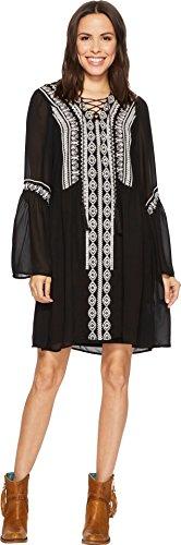 D Martinez Ranchwear Womens Black Dress Double gqTdSUg