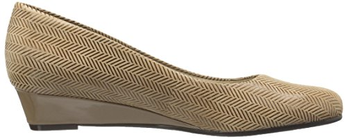 Trotters Womens Lauren Wedge, Taupe, 6,5 M Us