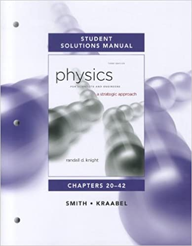 Amazon student solutions manual for physics for scientists and student solutions manual for physics for scientists and engineers a strategic approach vol 2chs 20 42 3rd edition fandeluxe Choice Image