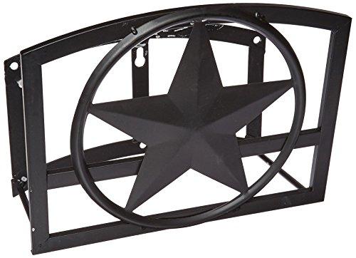 Ames Hose Hanger - Panacea Products Star Hose Hanger, Black