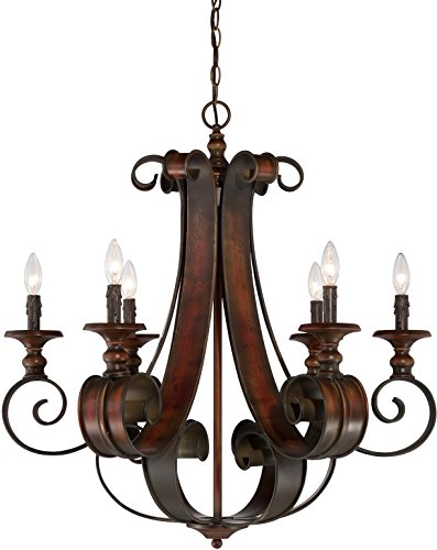 Craftmade 28026-SPZ 6 Light Chandelier