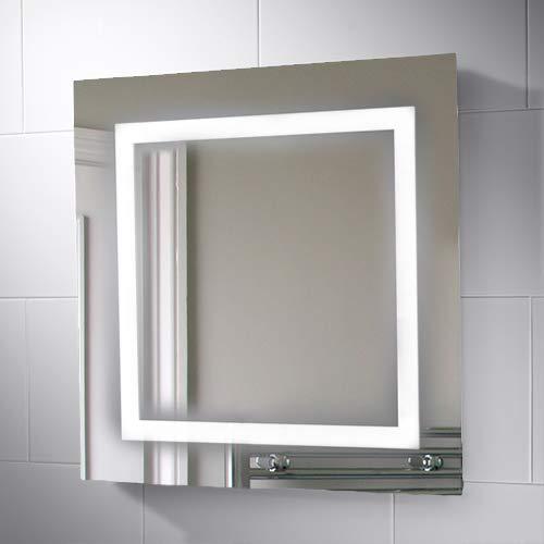 Pebble Grey 25.6 x 25.6 inch Raphael Illuminated LED -