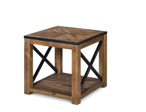 Magnussen T2386-03 Penderton Wood Rectangular End Table