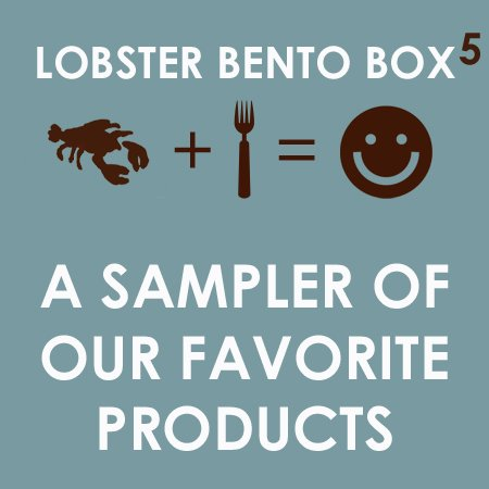Lobster Bento Box Sampler
