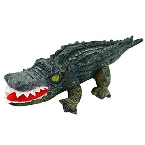 (Houwsbaby Crocodile Stuffed Animal Realistic Plush Alligator Soft Toy Cuddly Gift for Kids Boy,)
