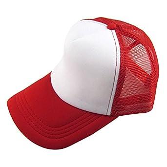 Darringls_gorras, Gorra de Verano bordad a Sombreros de Malla para Hombres Mujeres Sombreros Casuales Hip Hop Verano Sombreros de Malla para Casuales: ...