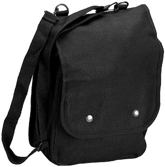 Black 5597 Map Case Shoulder Bag