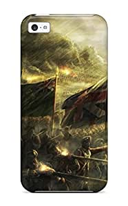 Fashion Tpu Case For Iphone 5c- Empire Total War Defender Case Cover