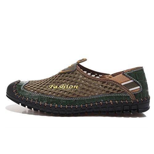 respirant met paresseux chaussures pour le de mesh d'été Chaussures hommes sport des chaussures A de chaussures pied Maillage maille hommes 6qxCYO7