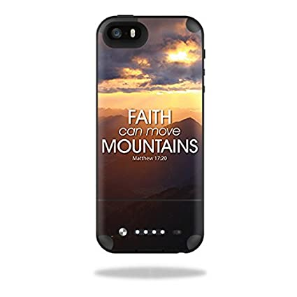 6cc40c26d5a170 MightySkins Skin for Mophie Space Pack iPhone 5/5S Case – Move Mountains    Protective