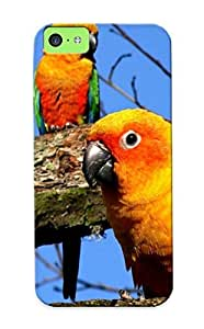 Iphone 5c Cover Case Design - Eco-friendly Packaging(parrots)
