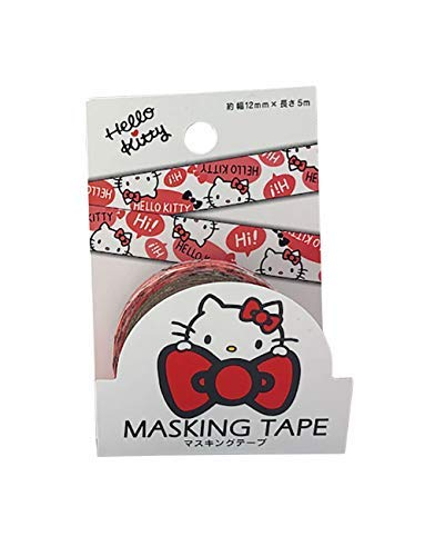 (Sanrio JP Hello Kitty Classic Masking Deco Tape Standard Japan Collection)