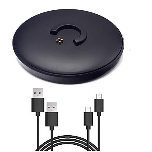 Bluetooth Speaker Charging Dock Cradle Base for Bose Soundlink Revolve/Revolve+ Desktop Charging Stand Cradle Charger -