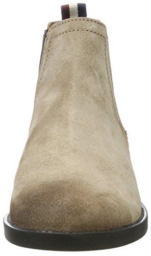 Stivali Chelsea Henfiger Denim Damen G1385etty 1b Beige (grigio Taupe), 39 Eu