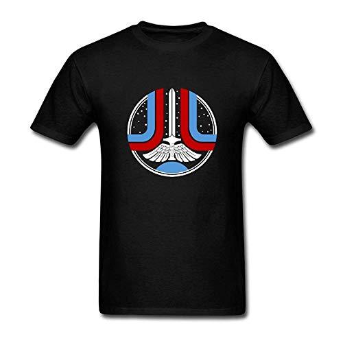 ACO-T Classic The Last Starfighter Black Mens Casual T -