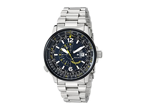 Citizen Watches Men's BJ7006-56L Eco-Drive Silver-Tone One Size ()