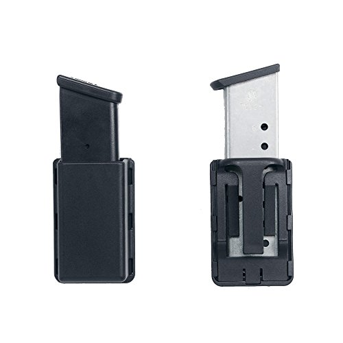 Uncle Mike's Kydex Off-Duty and Concealment Accessory Double Stack Single Mag Case, (Kydex Single)