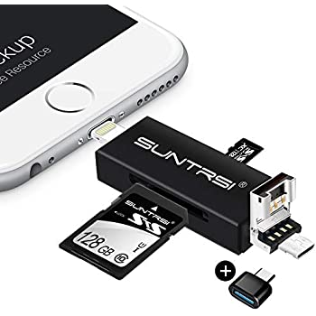 Amazon.com: SD Card Reader,Memory Micro SD Card Reader USB ...