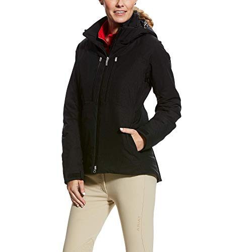 Ariat Womens Veracity H2O Cold Series Waterproof Jacket - Black (Small)