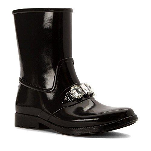 Michael Kors Rain Boots - Michael Michael Kors Women's Leslie Rain Bootie Black Boot