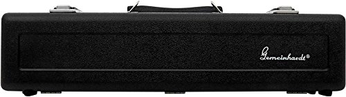 Gemeinhardt Flute Cases and Covers C3 Case   Fits C Foot Models 2SP, 3, 3SH, Black