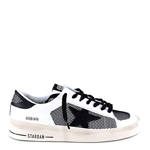 Goose Pelle Sneakers Golden Donna G34ws959a3 Bianco 8FUAFqxdw
