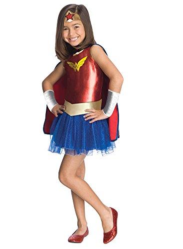 Girls Wonder Woman Tutu Costume ( 6-12Mo) -