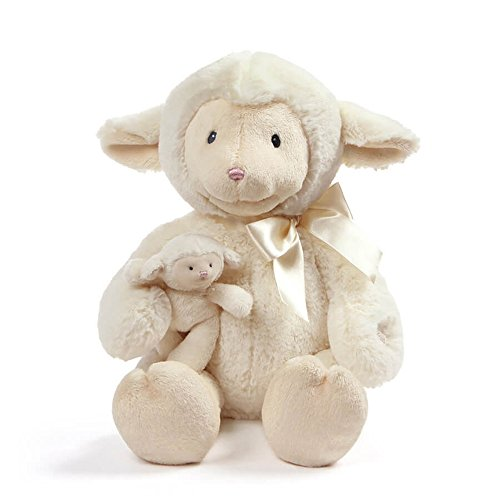 Baby GUND Animated Talking Nursey Time Lamb with 5 Nursery Rhymes, 10