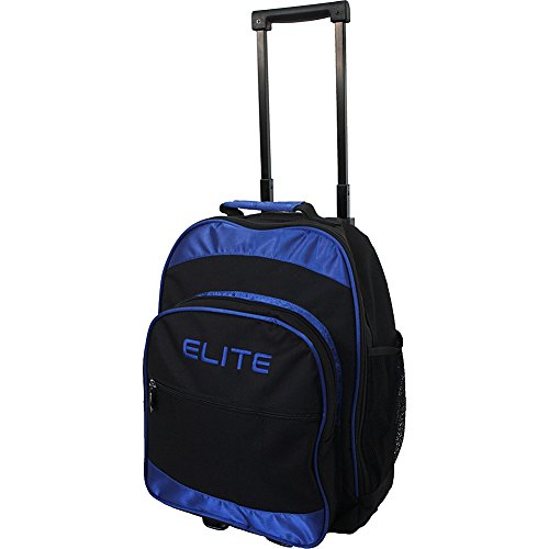 Elite Ace Single Roller Bowling Bag - Carry & Protect Equipment - Durable Bag Holds 1 Bowling Ball (Multiple Colors)