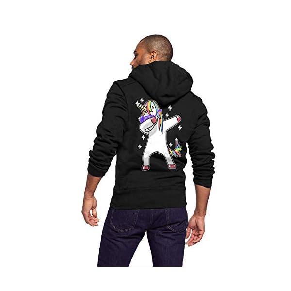 Gaga.idol.Type hoodies Mens Warm Sweatshirt Sherpa Lined Basic Hooded Cotton Fleece Slim Hoodie Jacket 3