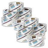 3850 Heavy-Duty Tape Refills, 1.88'' x 54.6yds, 3'' Core, Clear, 36/Carton - MMM3850CS36