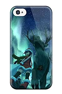 Randall A. Stewart's Shop original animal boots christmas night Anime Pop Culture Hard Plastic iPhone 4/4s cases