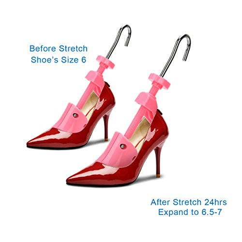 5e7a93a059ed KevenAnna Pair of Women High Heel Shoe Stretcher Professional 2-way  Adjustable Shoe Trees For