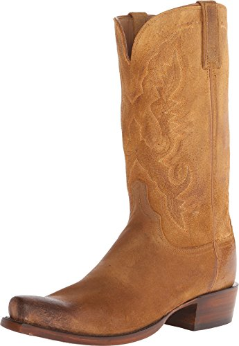 Men's Lucchese 'Austin' Western Boot, Size 14 D - Brown