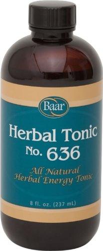 Herbal Tonic 636, 8 oz. (Tonic Nail)