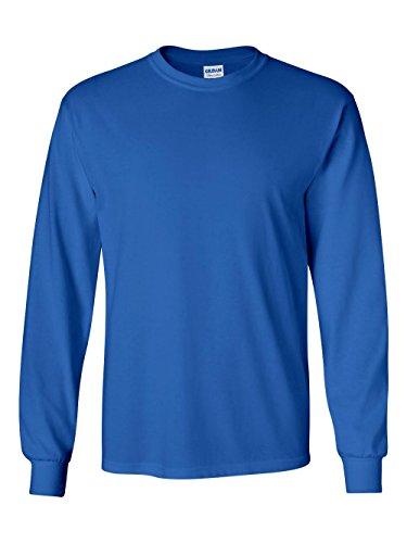 Gildan 6.1 oz. Ultra Cotton Long-Sleeve T-Shirt>M ROYAL G240