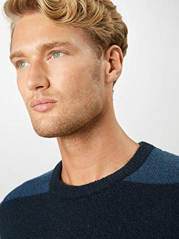!Solid Męski sweter Mayan ciemnopomarańczowy L: Odzież