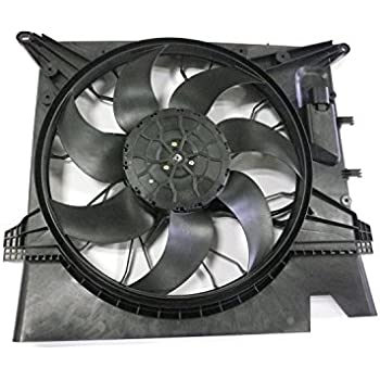 tyc 623120 volvo xc90 replacement cooling fan assembly