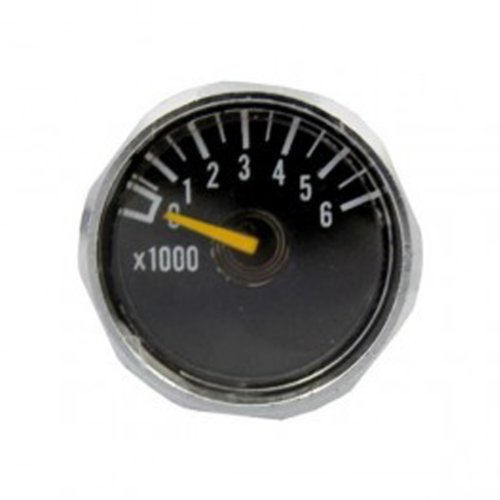 Ninja Gauges - Ninja 6000psi Mini Micro Gauge Regulator Parts BLACK