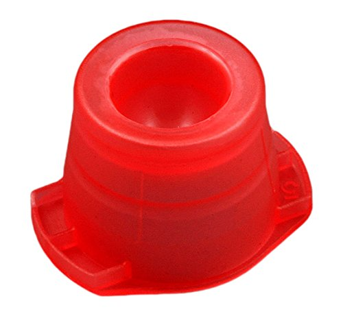 Globe Scientific 118115R Polyethylene Universal Snap Cap for 12mm, 13mm and 16mm Test Tubes, Red (Pack of 1000)